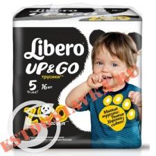 """Подгузники-трусики """"Libero"""" Up&Go (10- 14кг) 16шт"""