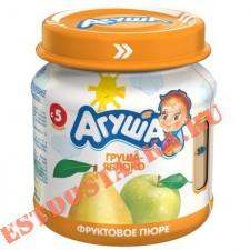 """Пюре """"Агуша"""" Груша-Яблоко фруктовое 0% 115г"""