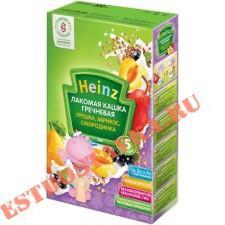 """Кашка """"Heinz"""" гречневая грушка, абрикос, смородинка 200г"""