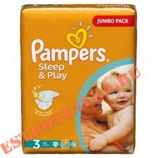 """Подгузники """"Pampers"""" Sleep & Play Миди (размер 3) 78шт"""