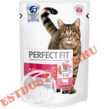 """Корм """"Perfect Fit"""" с говядиной для взрослых кошек 85г"""