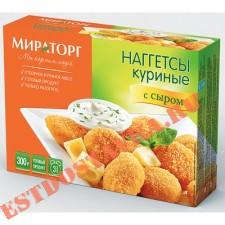 """Наггетсы """"Мираторг"""" куриные с сыром 300г"""