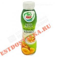 """Биойогурт """"Bio-Max"""" эффективный питьевой персик и курага 2,7% 270г"""
