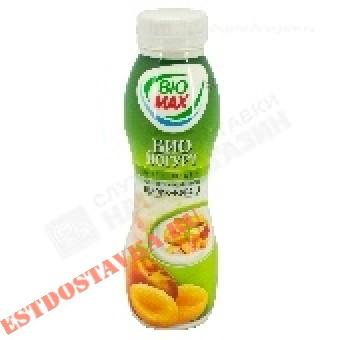 """Купить Биойогурт """"Bio-Max"""" эффективный питьевой персик и курага 2,7 270г"""