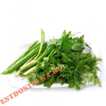 Купить Зелень Ассорти лук, укроп и петрушка 70г