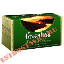 """Чай """"Greenfield"""" черный Премиум Ассам индийский 25шт*2г"""