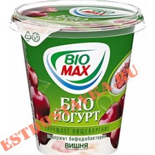 "Биойогурт ""Bio-Max"" вишня 2,6% 290г"