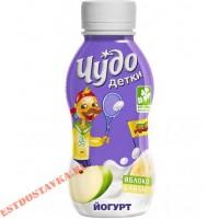 "Йогурт ""Чудо Детки"" яблоко-банан 2,2% 200г"