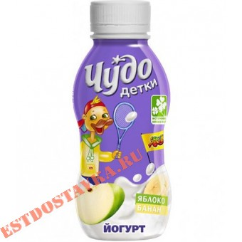 """Купить Йогурт """"Чудо Детки"""" яблоко-банан 2,2 200г"""