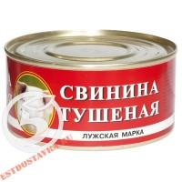 "Свинина ""Лужская Марка"" тушеная 325г"