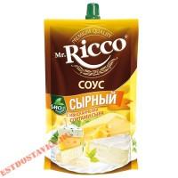 """Cоус """"Mr. Ricco"""" Сырный на основе растительных масел 210г"""