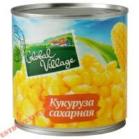 """Кукуруза """"Global Village"""" сахарная 425мл"""