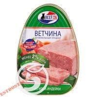 "Консервы ""Beef-On"" ветчина из индейки ж/б 340г"