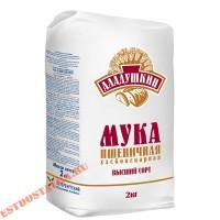 """Мука """"Аладушкин"""" Пшеничная в/с 2кг"""