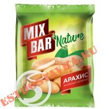 """Арахис """"Mixbar"""" жареный соленый 150г"""