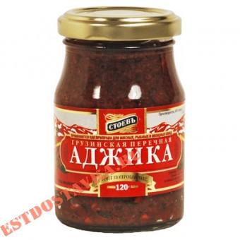 """Купить Аджика """"Стоевъ"""" Перечная грузинская 120г"""