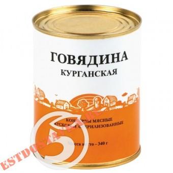 """Купить Говядина """"Курганский Мк"""" Курганская 340г"""