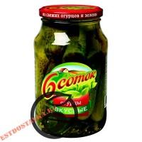 """Огурцы """"6 Соток"""" Вкусные 950г"""