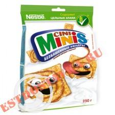"Готовый завтрак ""Nestle"" Cini Minis Безбашенные Квадры с корицей 250г"