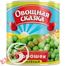 """Горошек """"Овощная Сказка"""" зеленый 310г"""