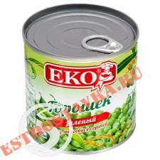 """Горошек """"Eko"""" зеленый из мозговых сортов 400г"""
