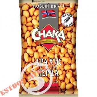 """Купить Арахис """"Chaka"""" обжаренный со вкусом черного перца 130г"""