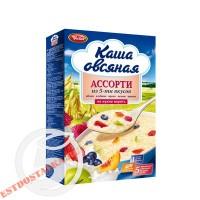 """Каша """"Увелка"""" овсяная Ассорти из 5 вкусов 5*40г"""