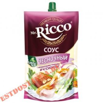 """Купить Cоус """"Mr. Ricco"""" Чесночный на основе растительных масел 210г"""