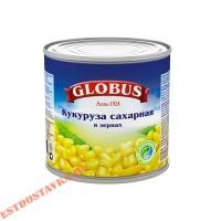 "Кукуруза ""Globus"" сладкая в зернах 340г"