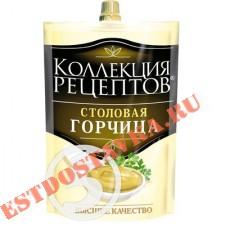 """Горчица """"Коллекция Рецептов"""" Столовая 140г"""