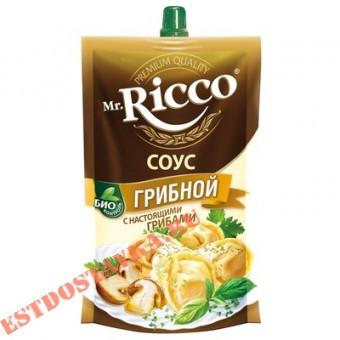 """Купить Cоус """"Mr. Ricco"""" Грибной на основе растительных масел 210г"""