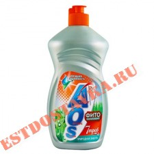"""Средство для посуды """"Aos"""" Фитокомплекс 7 Трав 500г"""