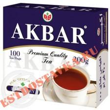 "Чай ""Akbar"" Earl Grey 100*2г"