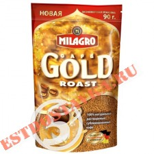 "Кофе ""Milagro"" Gold Roast растворимый 90г"