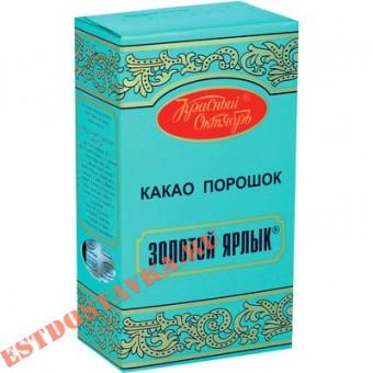 """Купить Какао """"Золотой Ярлык"""" порошок 100г"""