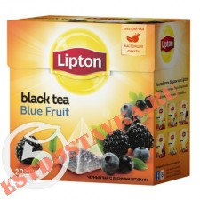 "Чай ""Lipton"" Blue Fruit черный 20пак*1,8г"