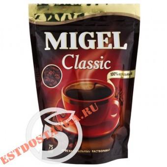 """Купить Кофе """"Migel"""" Classic натуральный растворимый гранулированный 75г"""