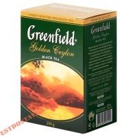 """Чай """"Greenfield"""" Голден Цейлон черный, листовой 200г"""