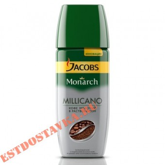 """Купить Кофе """"Jacobs"""" Monarch Millicano натуральный растворимый сублимированный 95г"""