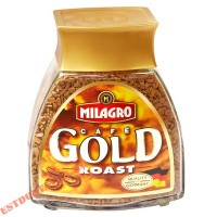 "Кофе ""Milagro"" Gold Roast натуральный растворимый сублимированный 50г"