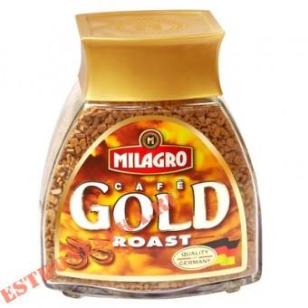 """Купить Кофе """"Milagro"""" Gold Roast натуральный растворимый сублимированный 50г"""