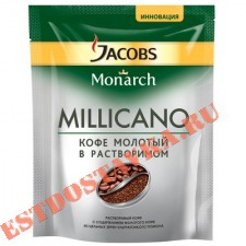 "Кофе ""Jacobs"" Monarch Millicano растворимый 75г"