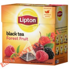 "Чай ""Lipton"" Forest Fruit черный 20пак*1.7г"