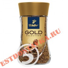 "Кофе ""Tchibo"" Gold Selecтion растворимый 95г"