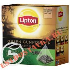 """Чай """"Lipton"""" Green Gunpowder зеленый 20пак"""
