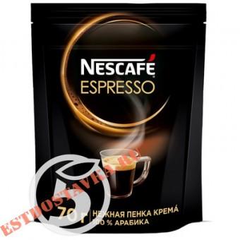 """Купить Кофе """"Nescafe"""" Espresso натуральный растворимый 70г"""