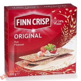 """Купить Сухарики """"Finn Crips"""" Original ржаные 200г"""
