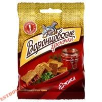 """Сухарики-греночки """"Воронцовские"""" ржаные со вкусом аджики 60г"""
