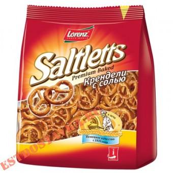 """Купить Крендели """"Lorenz"""" с солью Saltletts классические 150г"""