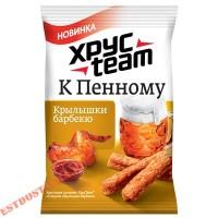 """Сухарики """"Хрусteam"""" К Пенному со вкусом Крылышек барбекю 90г"""